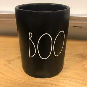 Brand new Rae dunn boo candle double sided